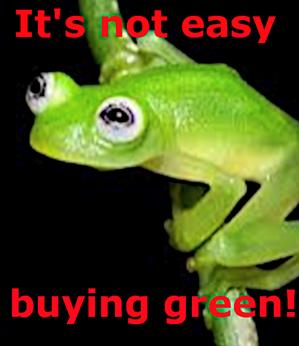 buying green